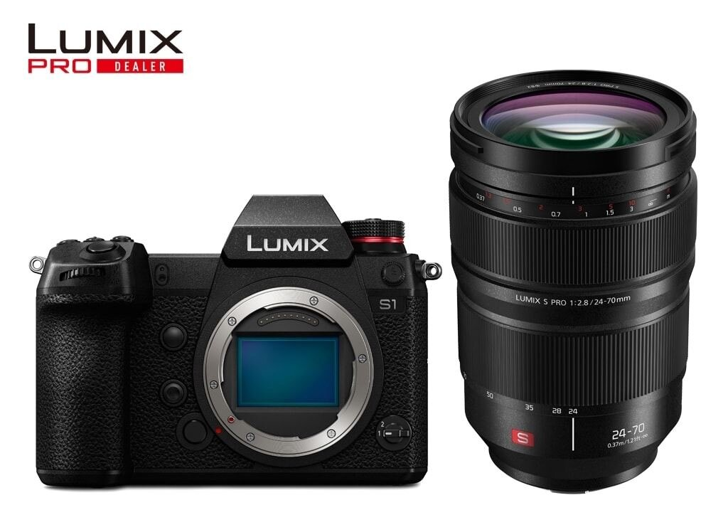 Panasonic LUMIX DC-S1 + LUMIX S PRO 24-70mm 1:2,8