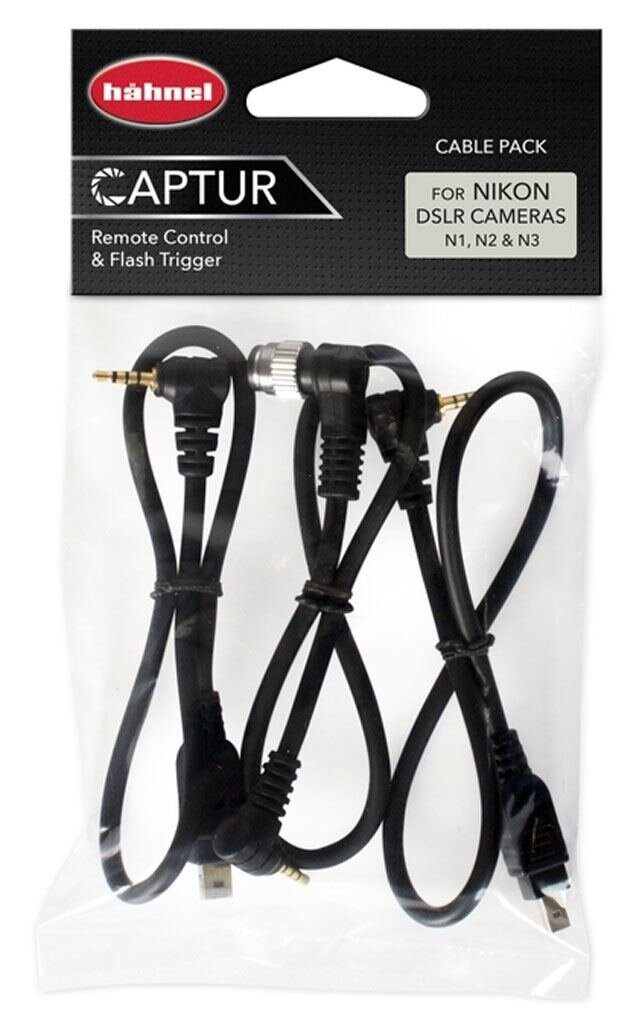 Hähnel Captur Cable Pack f. Nikon