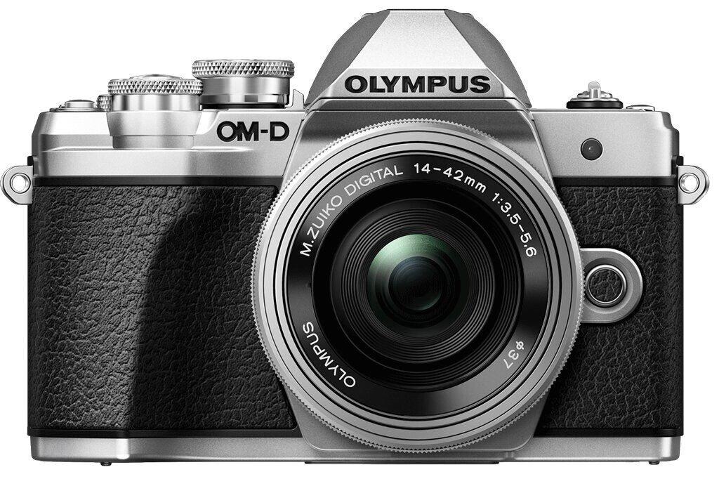 Olympus OM-D E-M10 Mark III silber inkl. M. Zuiko Dig. 14-42mm 1:3,5-5,6 EZ