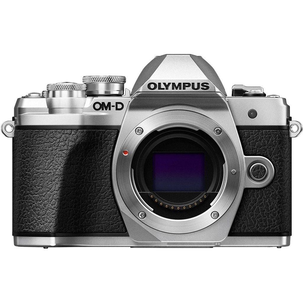 Olympus OM-D E-M10 Mark III silber inkl. M.Zuiko Digital 14-42mm 1:3.5-5.6 II R