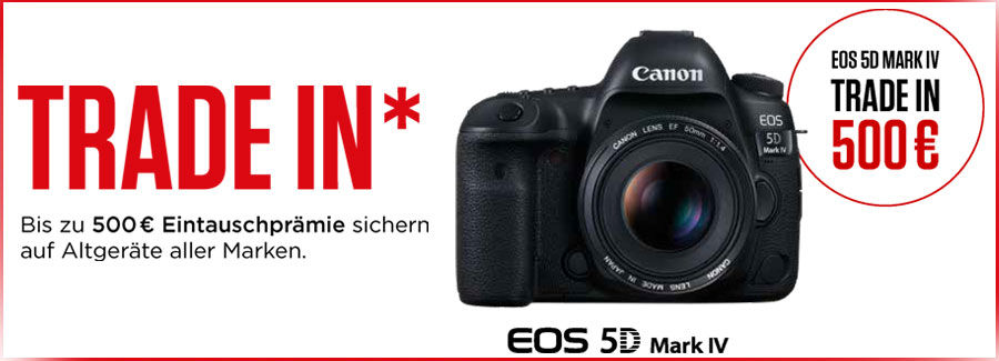 Canon EOS 5D Mark IV Trade-In Aktion