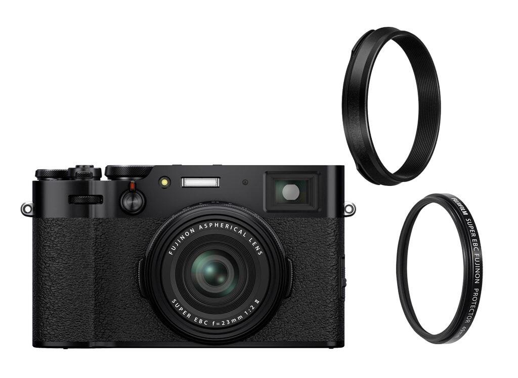 Fujifilm X100V schwarz + Weather-Resistant Kit X100V