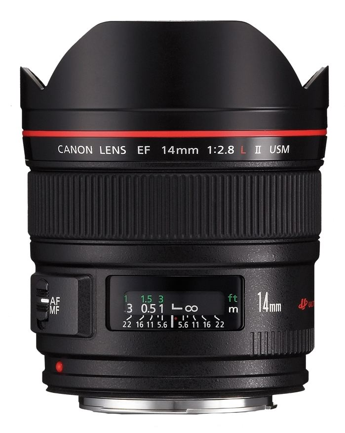 Canon EF 14mm 1:2,8 L II USM