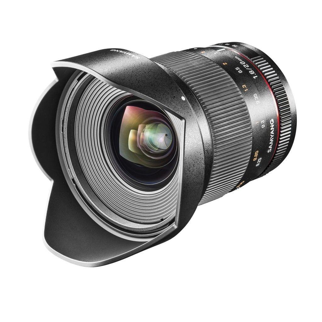 Samyang MF 20mm 1:1,8 AE für Nikon F