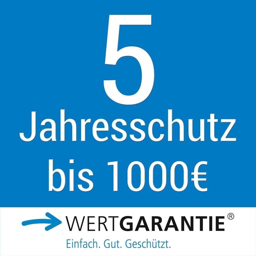 Wertgarantie 5 Jahresschutz bis 1000,- Euro