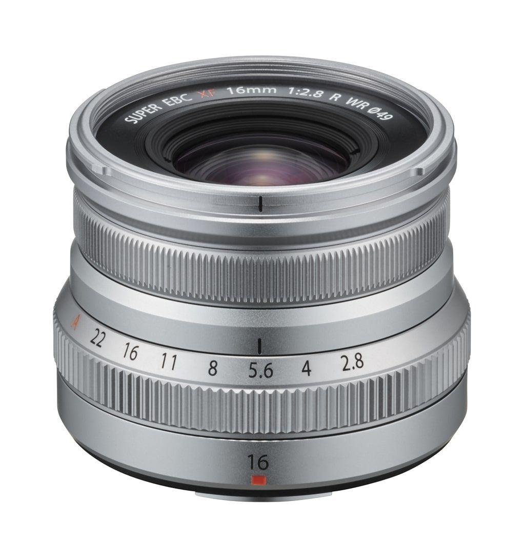 Fujifilm XF 16mm 1:2,8 R WR silber