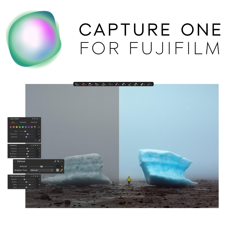 Capture One für Fujifilm