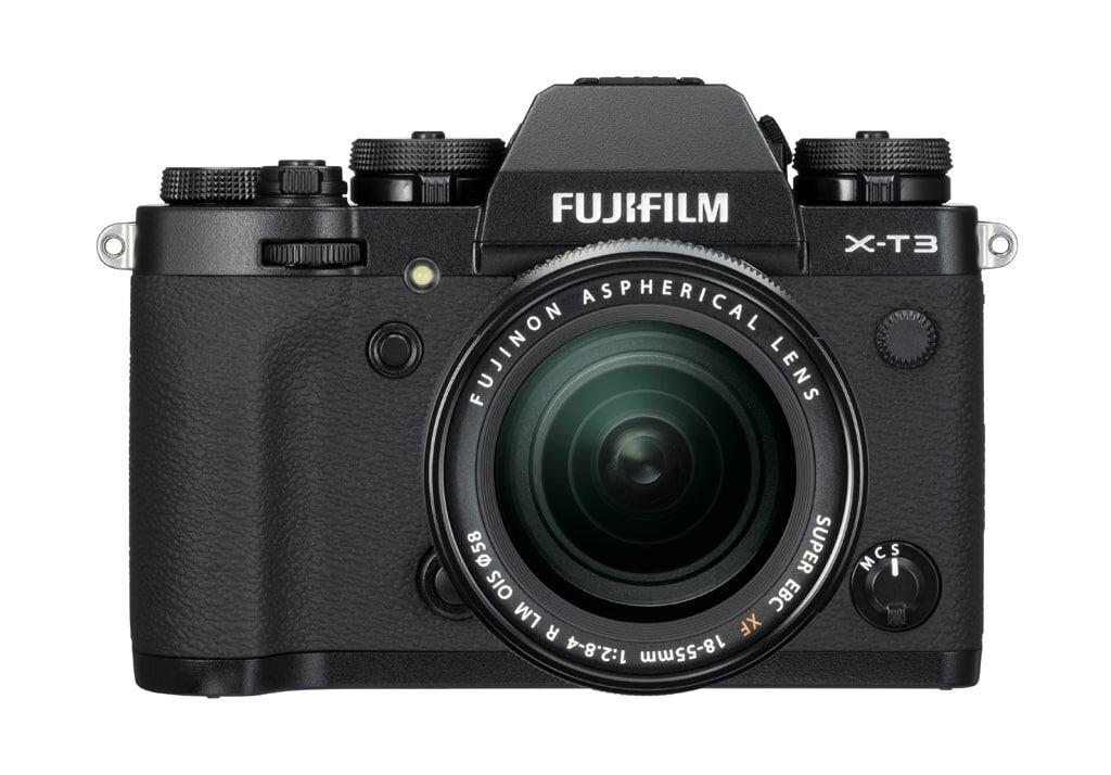 Fujifilm X-T3 schwarz inkl. XF 18-55mm 1:2,8-4,0 R LM OIS