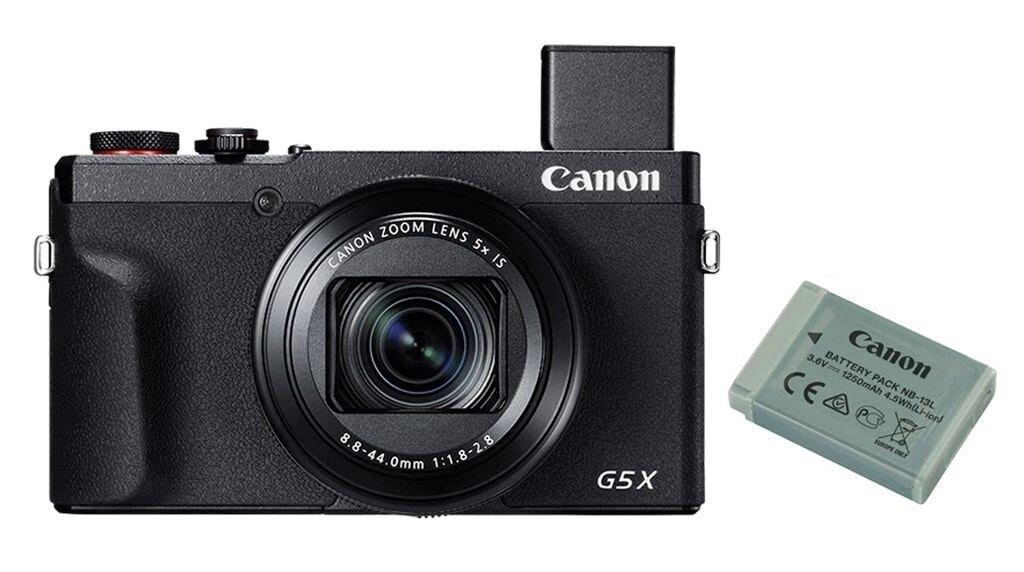 Canon PowerShot G5X Mark II Battery Kit + Zusatzakku