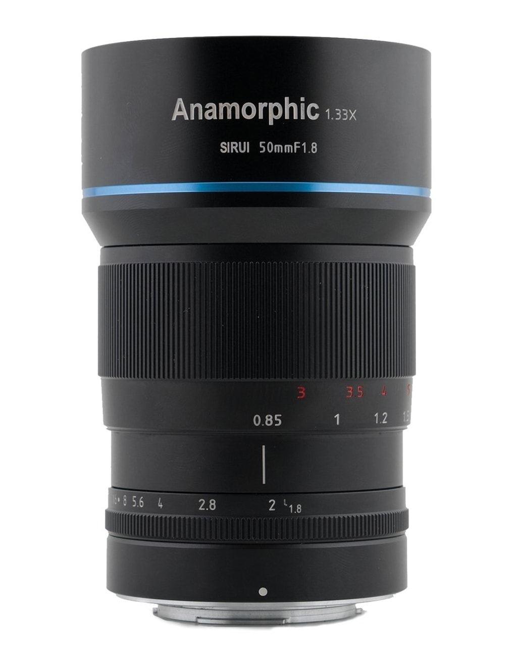 SIRUI 50mm 1:1,8 1.33x anamorphes Objektiv MEK7K für Fuji X