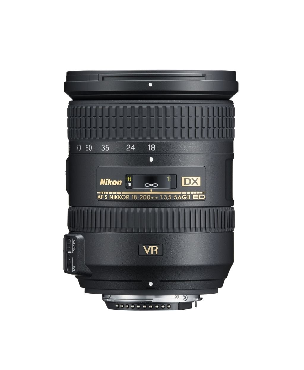 Nikon AF-S DX 18-200mm 1:3,5-5,6 G ED VR II aus Set