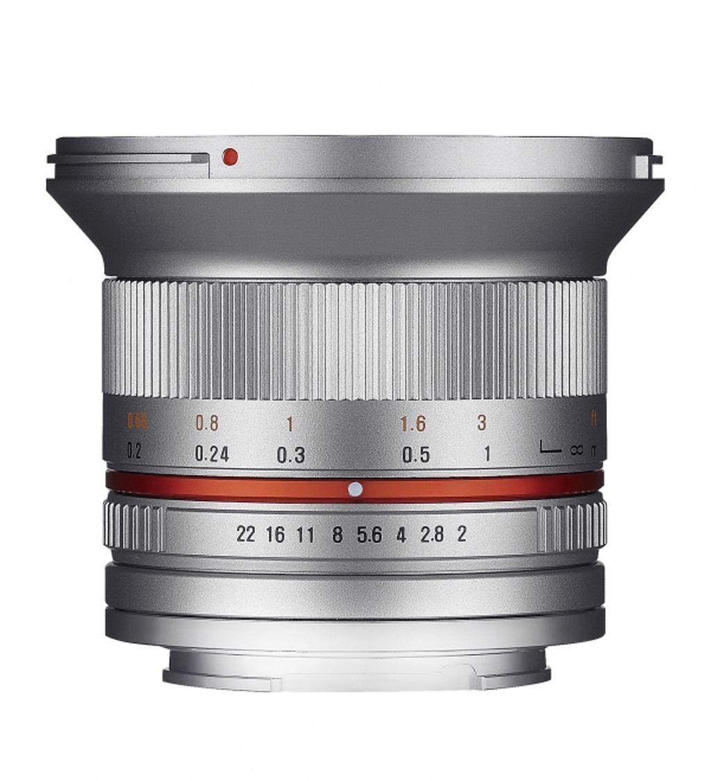 Samyang 12mm 1:2,0 NCS CS Sony E-Mount silber
