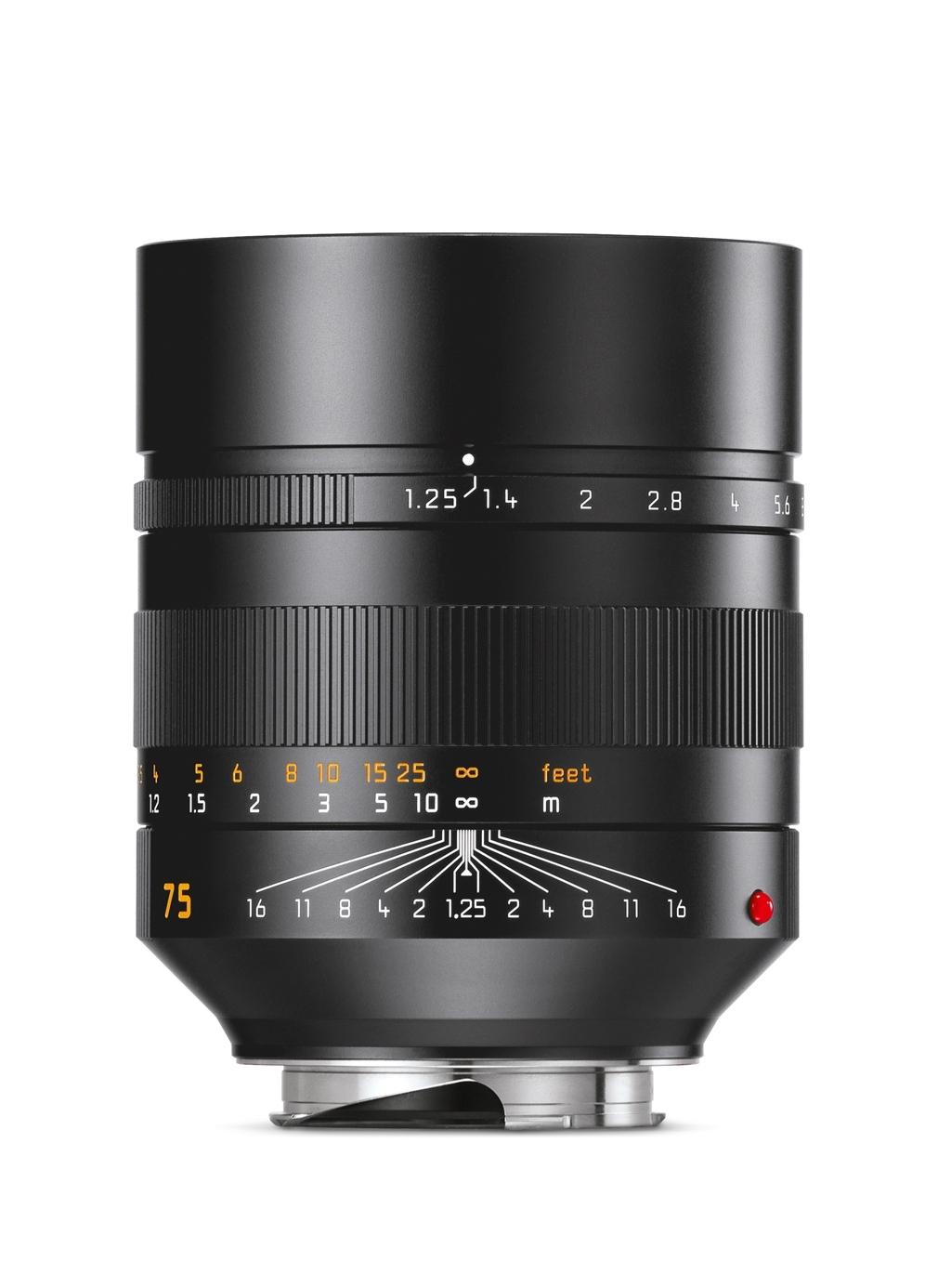 LEICA NOCTILUX-M 1:1,25/75mm ASPH. 11676