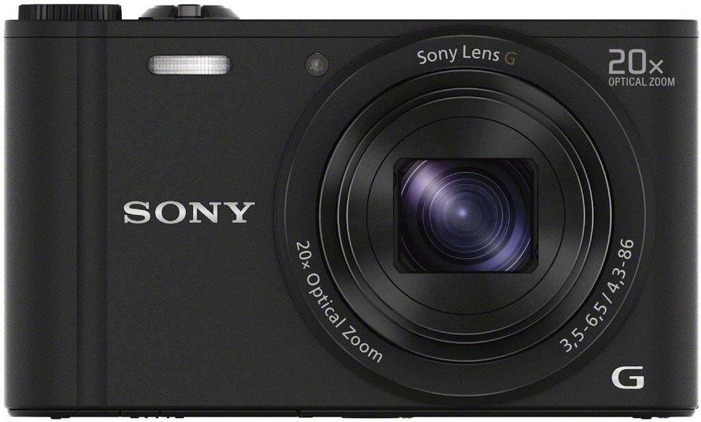 Sony Cybershot DSC-WX350 schwarz