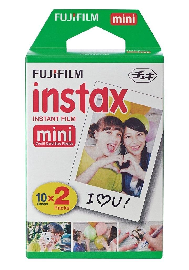 Fujifilm Instax Mini Sofortbildfilm Color Glossy für 20 Aufnahmen