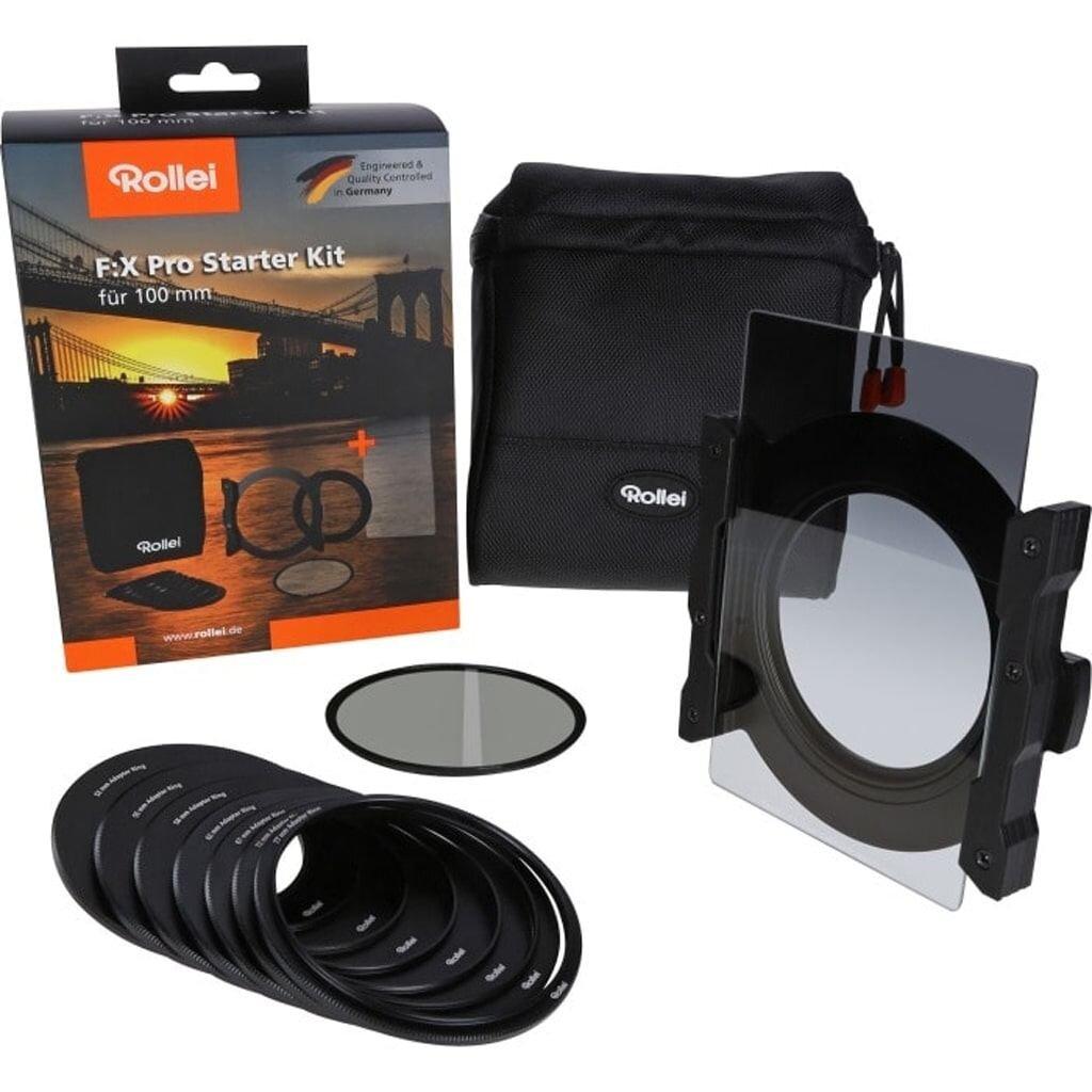 Rollei F:X Pro Starter Kit (Soft GND8 Grauverlaufsfilter + Polfilter)