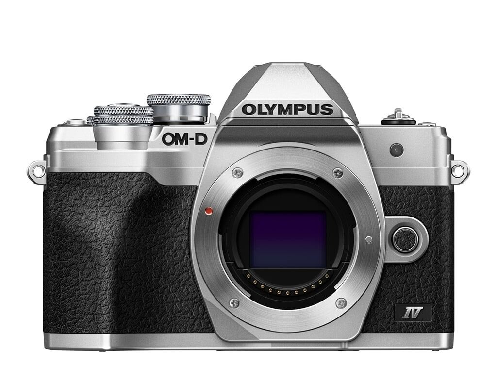 Olympus OM-D E-M10 Mark IV silber Gehäuse