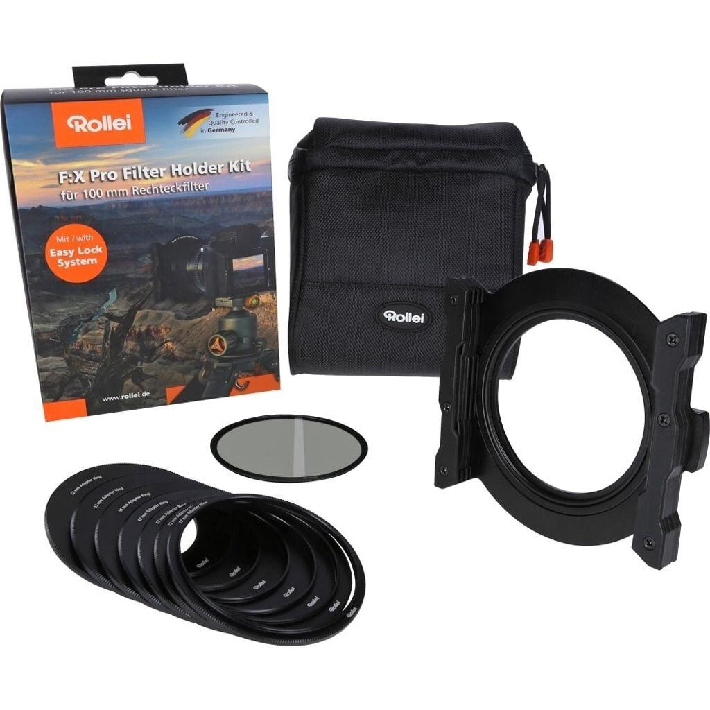 Rollei F:X Pro Filter Holder Kit (Filterhalter 100 mm + Polfilter CPL)