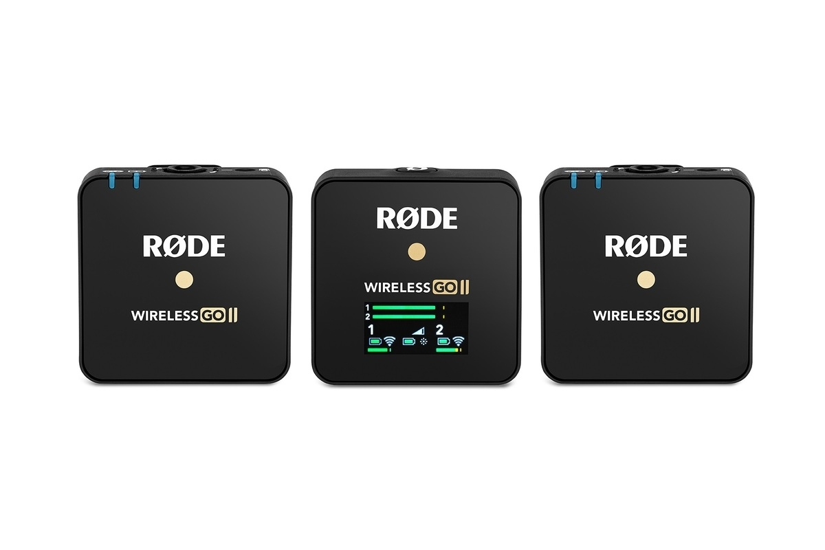 Rode Wireless GO II Digitales 2-Kanal Drahtlos-Mikrofonsystem