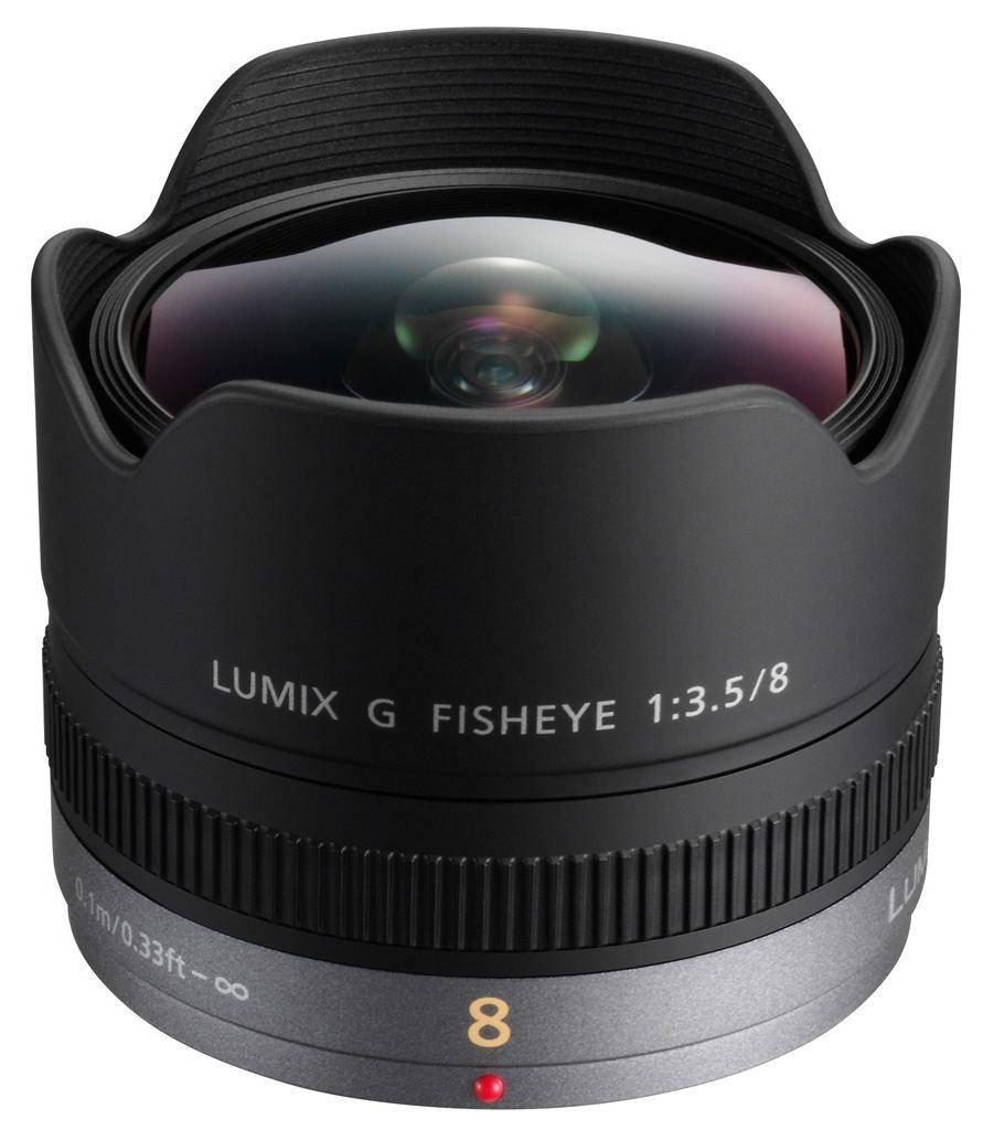 Panasonic 8mm 1:3,5 Fisheye
