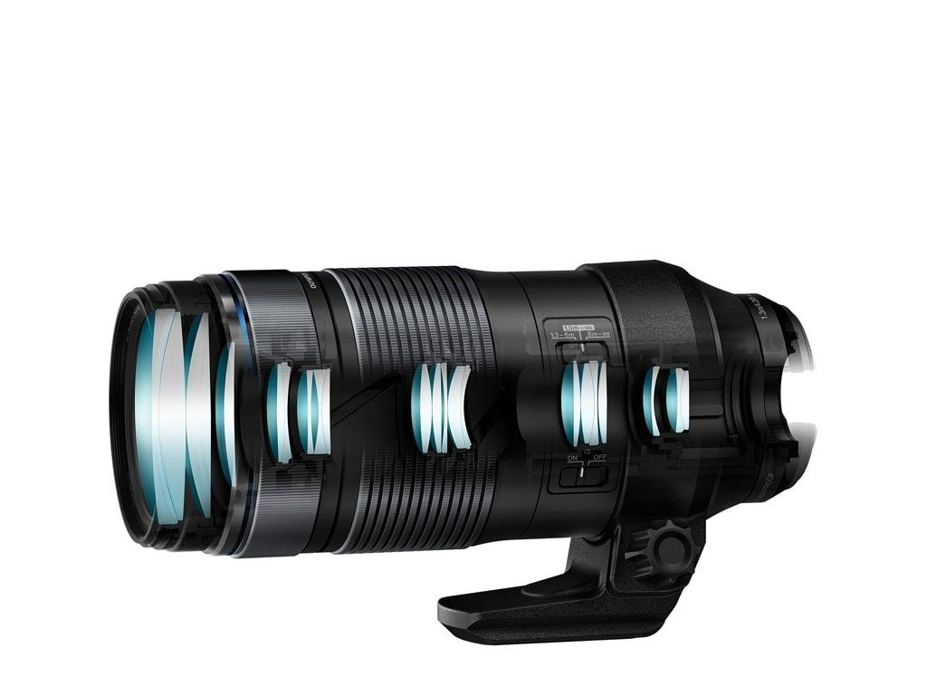 Olympus M.Zuiko Digital ED 100-400mm 1:5.0-6.3 IS