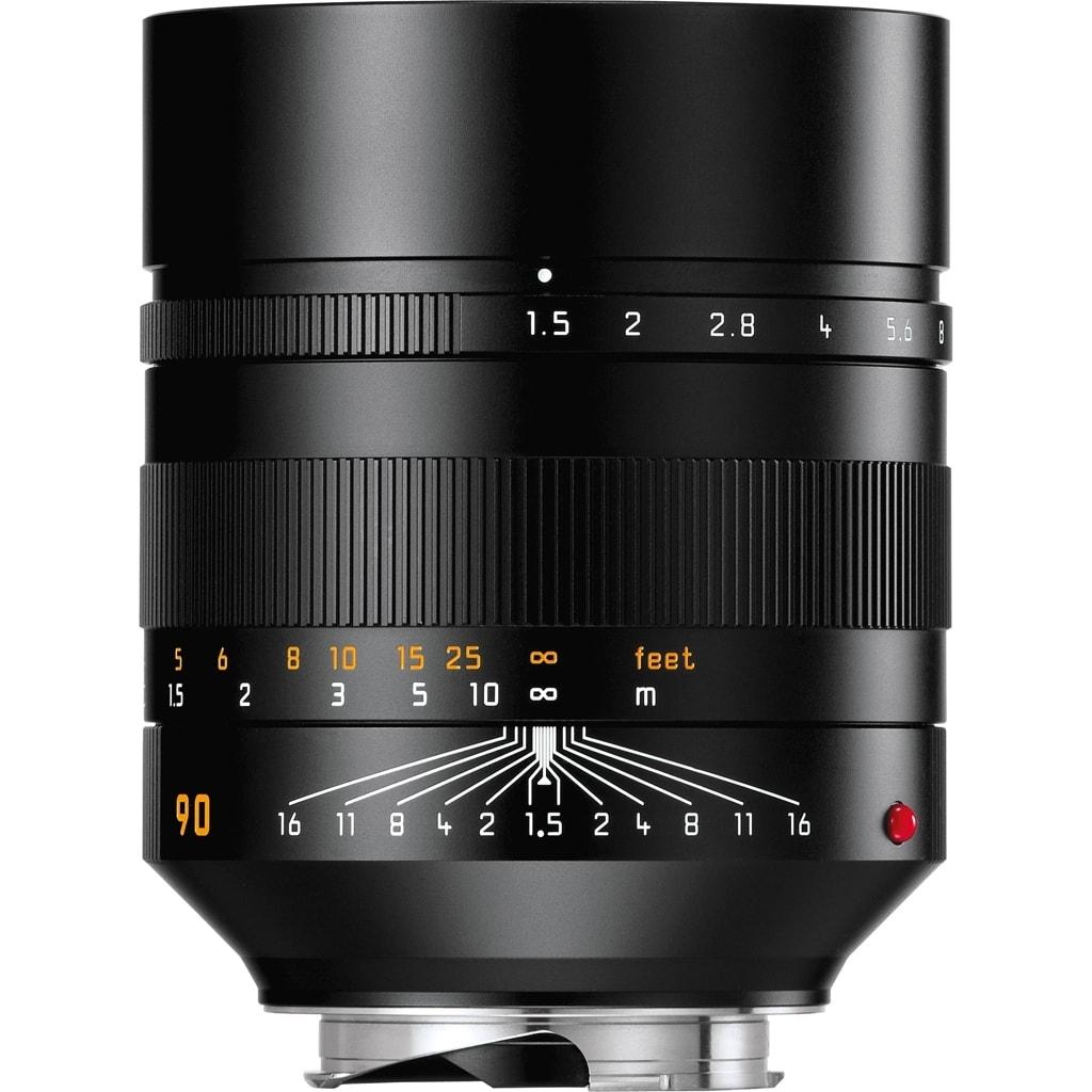 LEICA SUMMILUX-M 1.5/90mm ASPH., schwarz eloxiert 11678