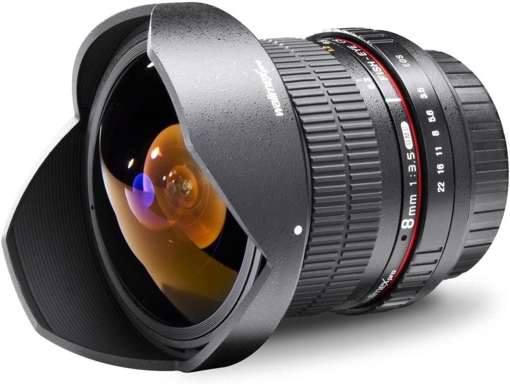 Walimex Pro 8mm 1:3,5 Fish-Eye II für Pentax