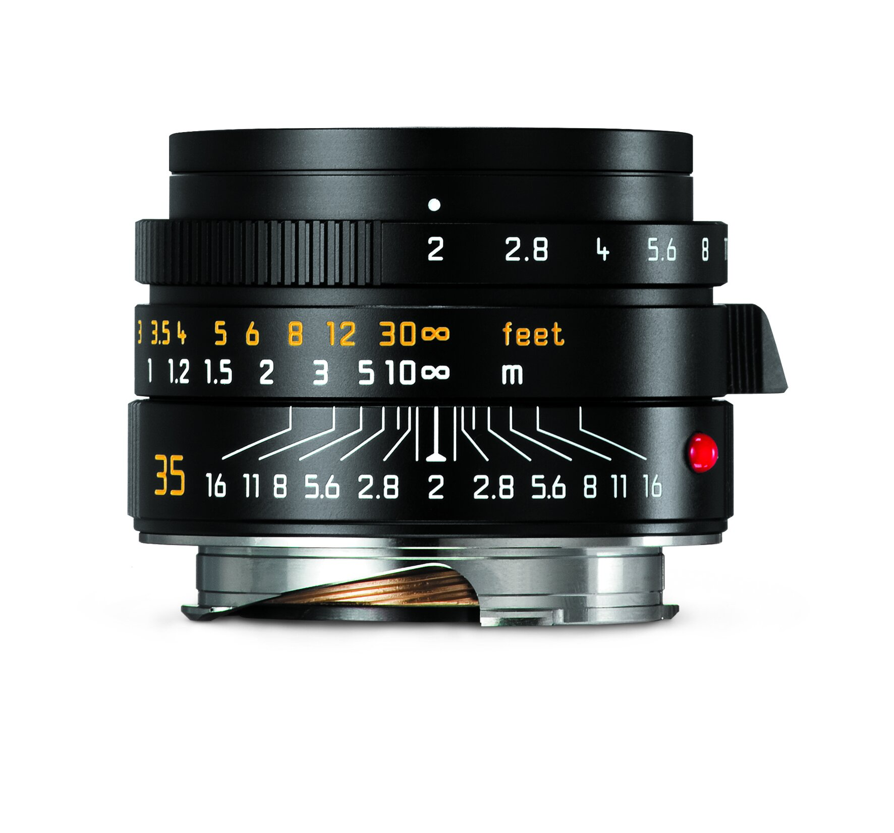 LEICA SUMMICRON-M 2/35mm ASPH., schwarz eloxiert