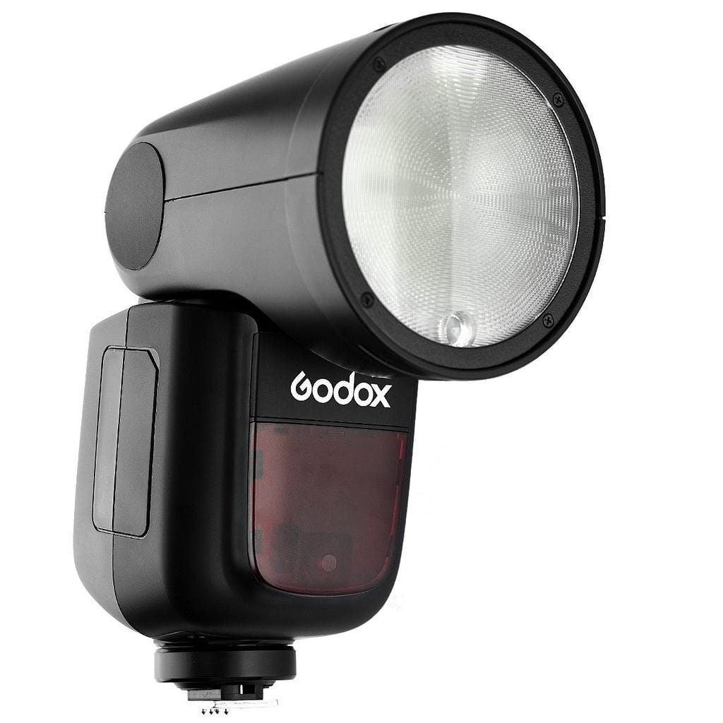 GODOX V1C Rundblitzgerät inkl. Akku für Canon