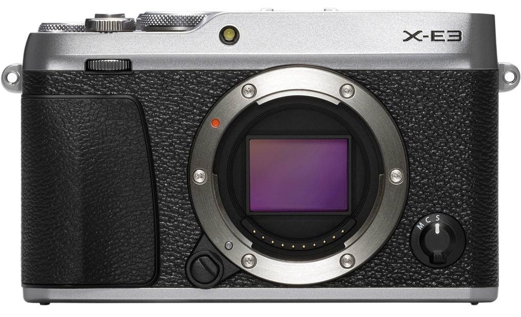 Fujifilm X-E3 silber Gehäuse