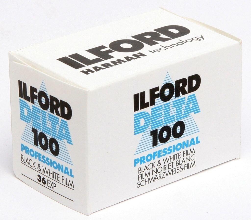 Ilford Delta 100 135/36 Kleinbildfilm