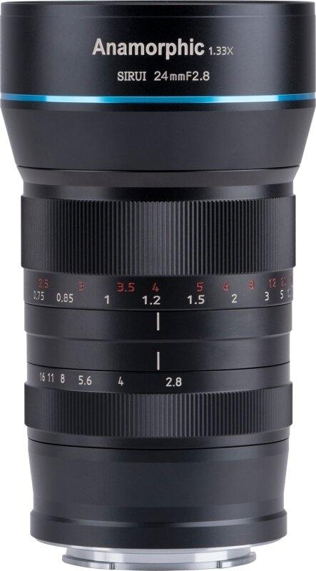 SIRUI SR24-EFM 24mm f2.8 1.33X anamorphes Objektiv (EF-M Mount)