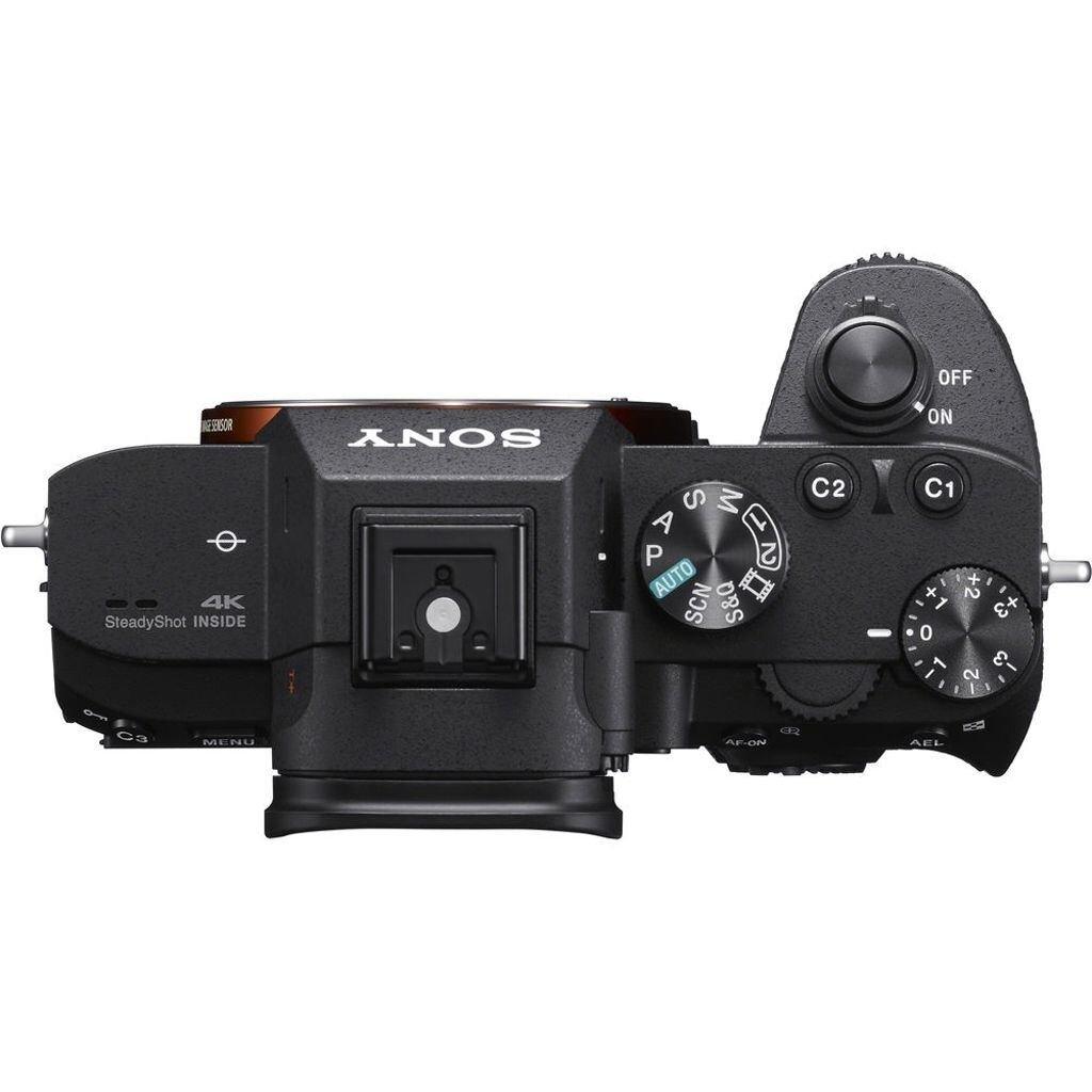 Sony alpha 7 III (ILCE7M3B) + Objektivadapter LA-EA4