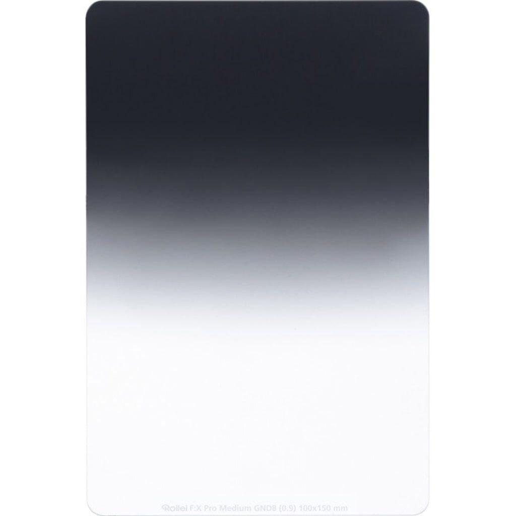 Rollei F:X Pro Medium GND8 Grauverlaufsfilter 100mm Rechteckfilter