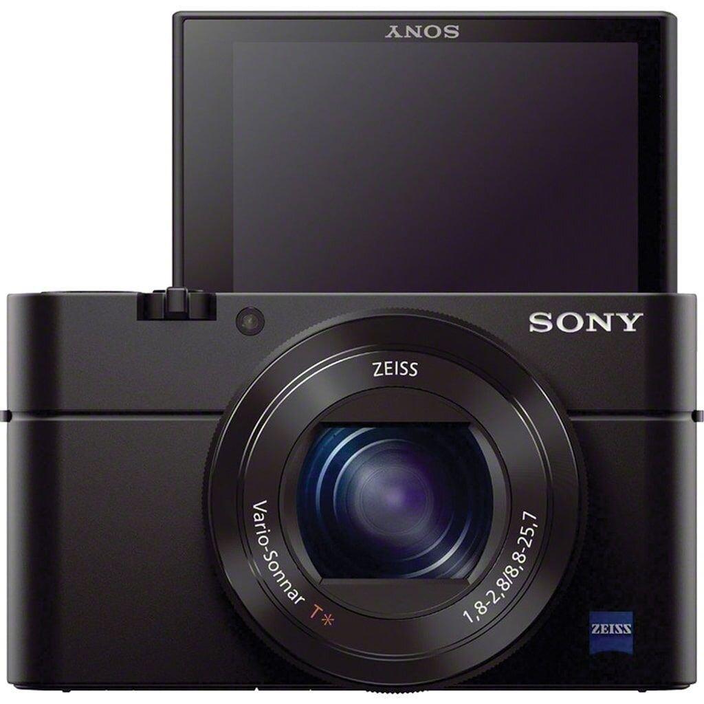 Sony DSC-RX100 III inkl. Tasche LCS-RXG + AG-R2 Griffbefestigung