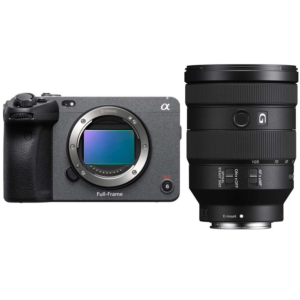 Sony Alpha ILME-FX3 (ILME-FX3) + Sony SEL FE 24-105mm 1:4 G OSS (SEL24105G)