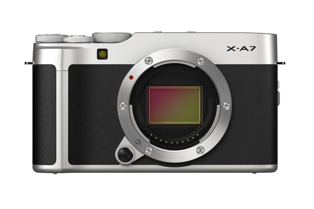 Fujifilm X-A7 silber Gehäuse