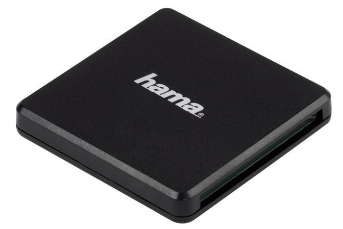 Hama Kartenleser USB 3.0 SD/MSD/CF schwarz