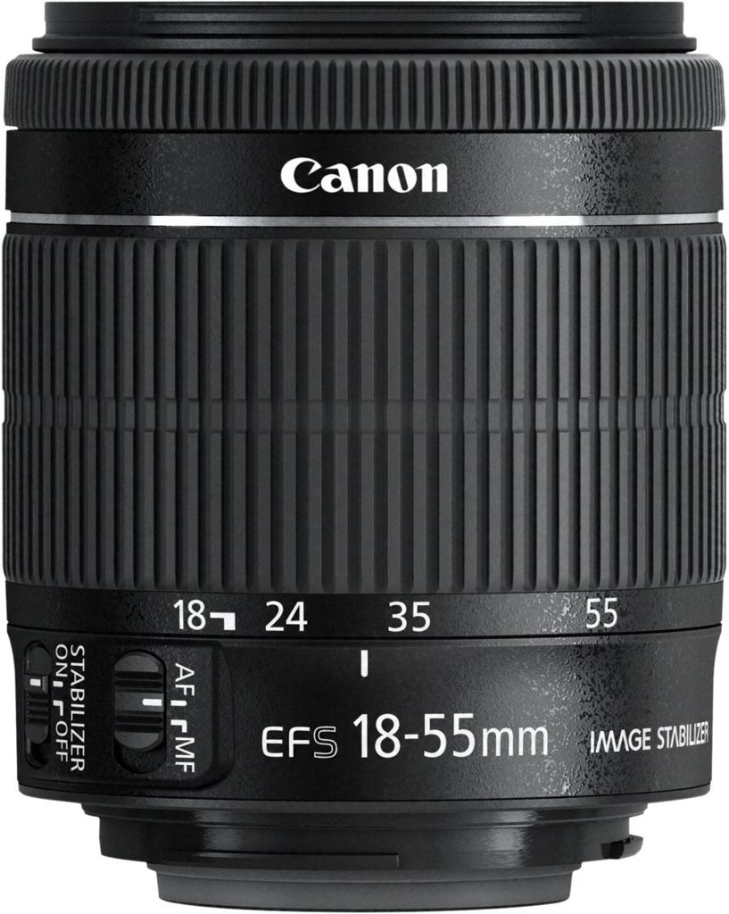 Canon EF-S 18-55 mm 1:3,5-5,6 IS STM aus Set