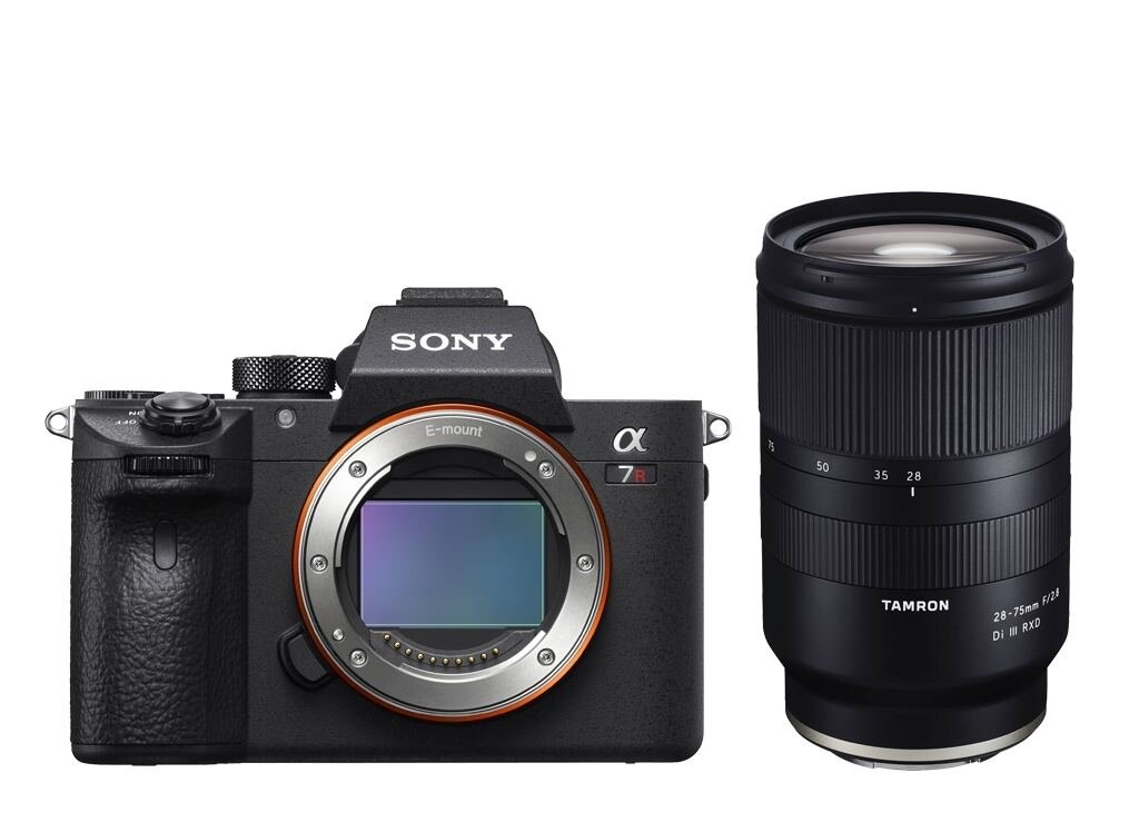 Sony alpha 7R III (ILCE7RM3B) inkl. Tamron 28-75mm 1:2,8 Di III RXD