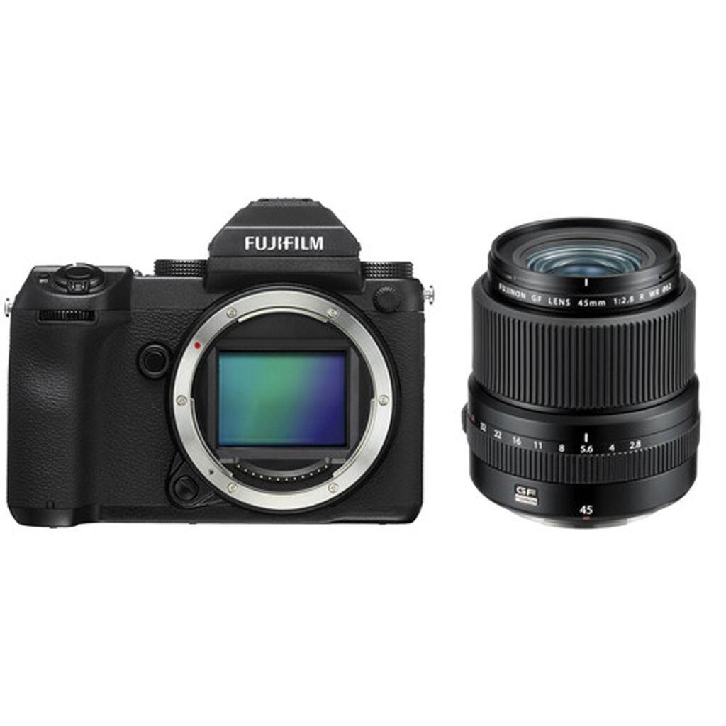 Fujifilm GFX 50S + GF 45mm 1:2.8 R WR