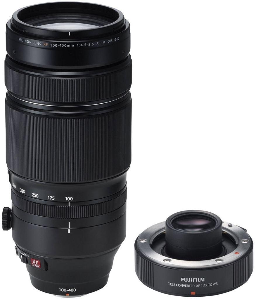 Fujifilm XF 100-400mm 1:4,5-5,6 R LM OIS WR inkl. XF 1.4X TC WR Telekonverter
