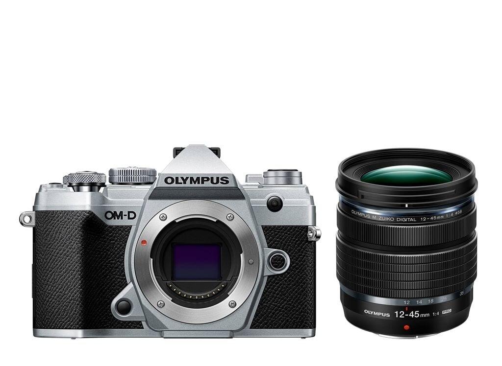 Olympus OM-D E-M5 Mark III silber + M.Zuiko Digital ED 12-45mm 1:4,0 PRO