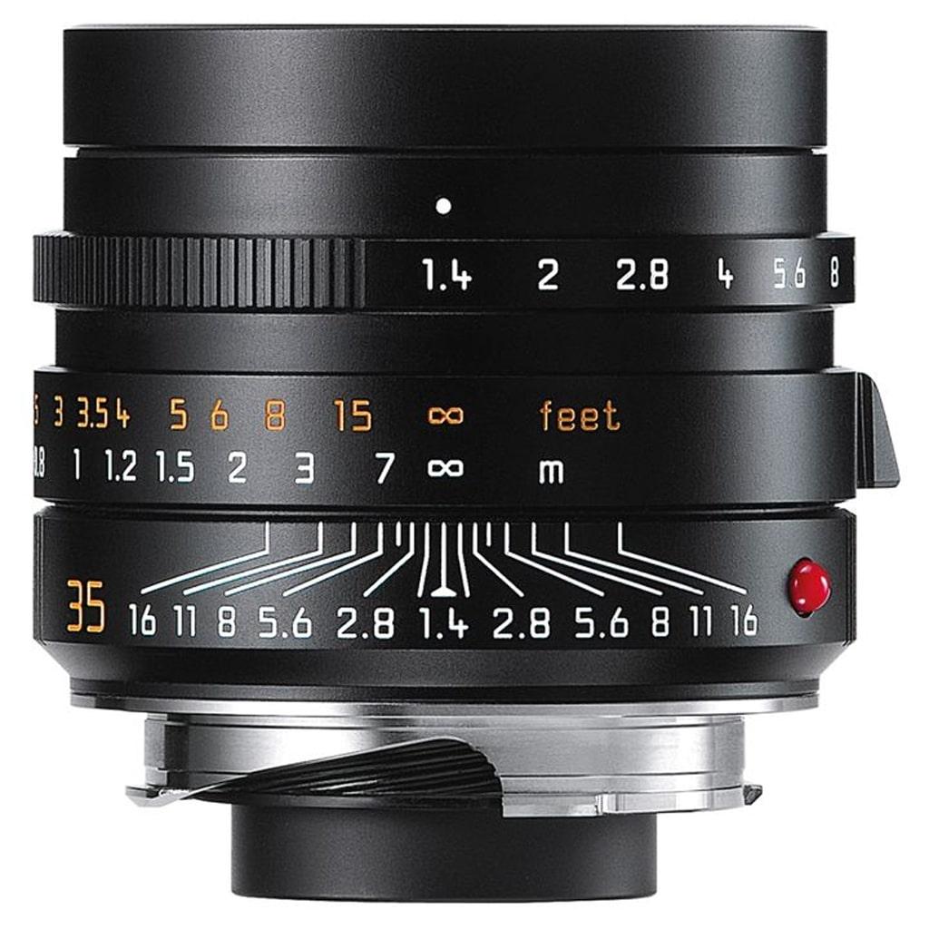 LEICA SUMMILUX-M 1.4/35 mm ASPH., schwarz eloxiert 11663