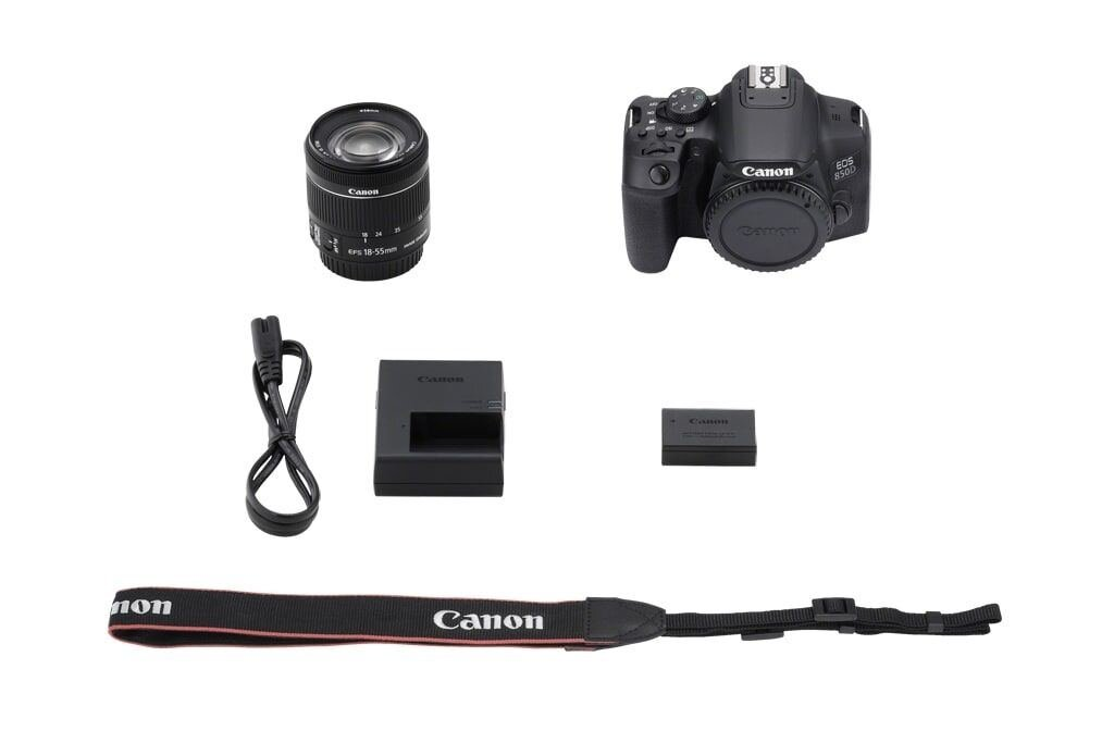 Canon EOS 850D + EF-S 18-55mm 1:4-5,6 IS STM