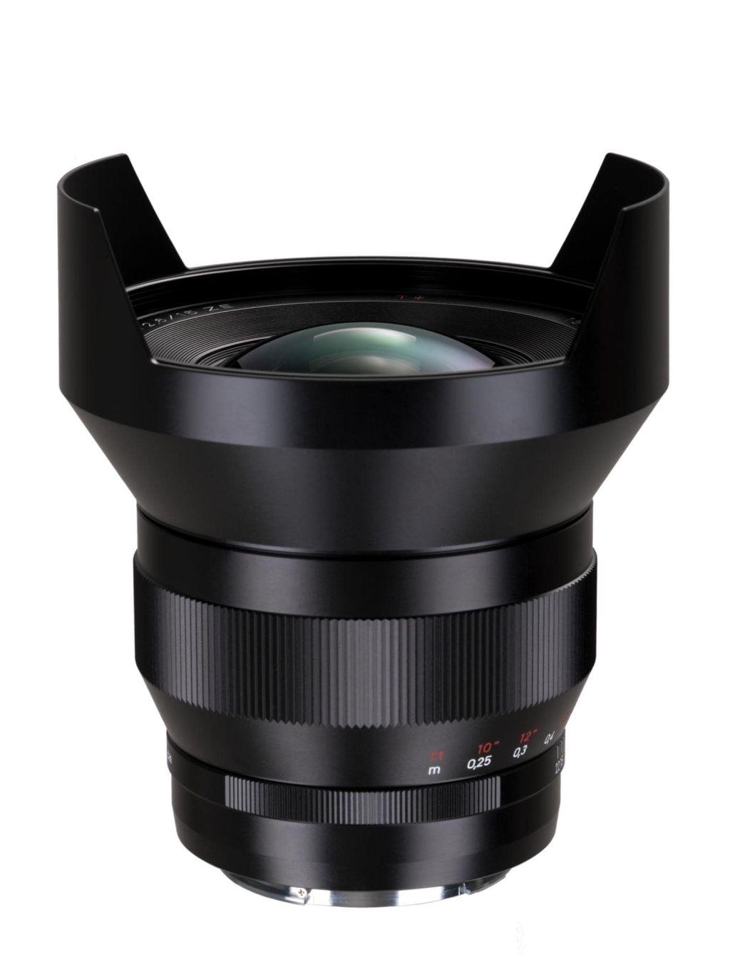 Zeiss f. Canon 2,8/15mm ZE Distagon T* ohne Gegenlichtblende