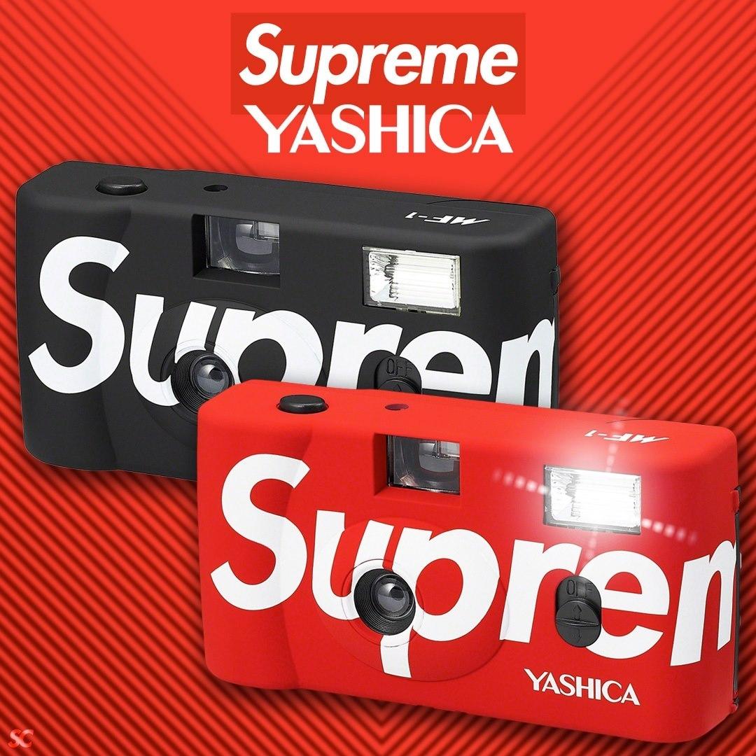 Yashica MF-1 x Supreme rot