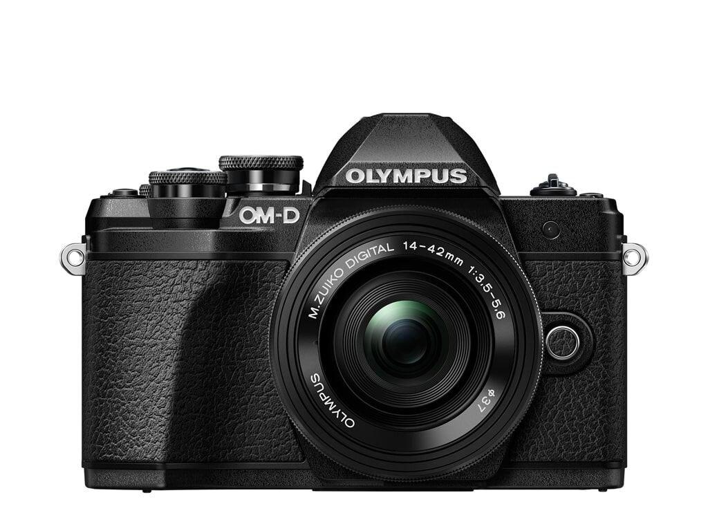 Olympus OM-D E-M10 Mark III schwarz inkl. M. Zuiko Dig. 14-42mm 1:3,5-5,6 EZ