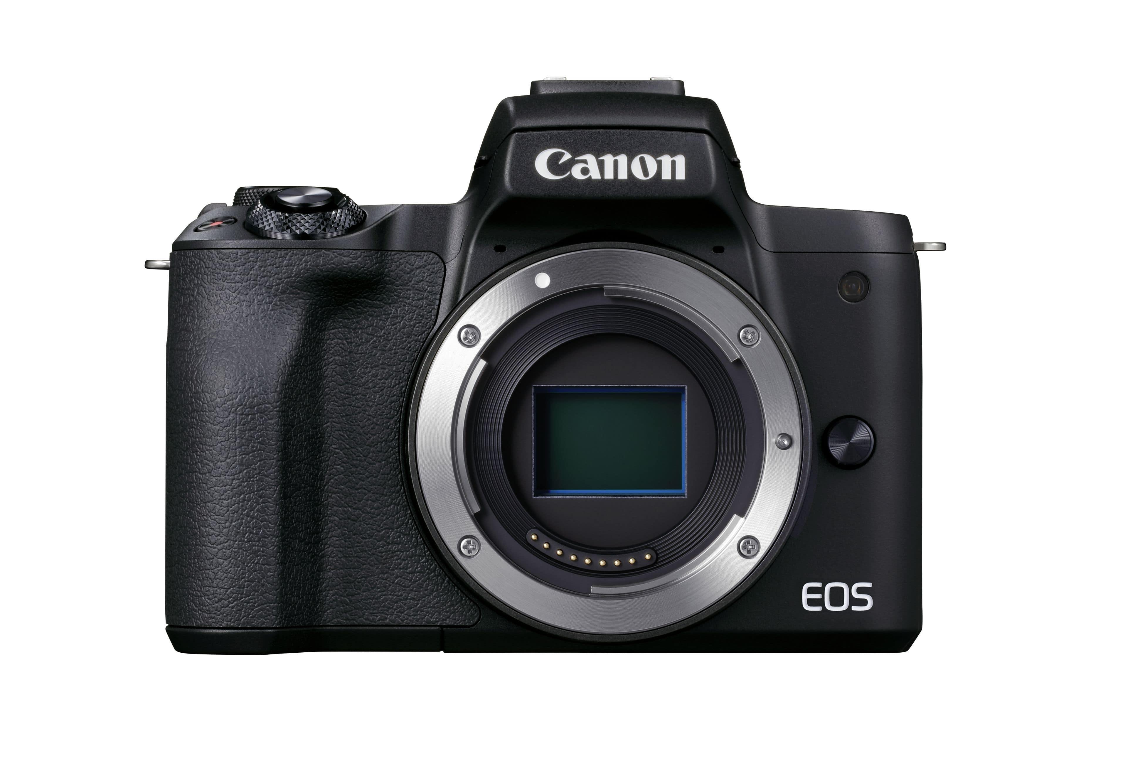 Canon EOS M50 II Gehäuse schwarz