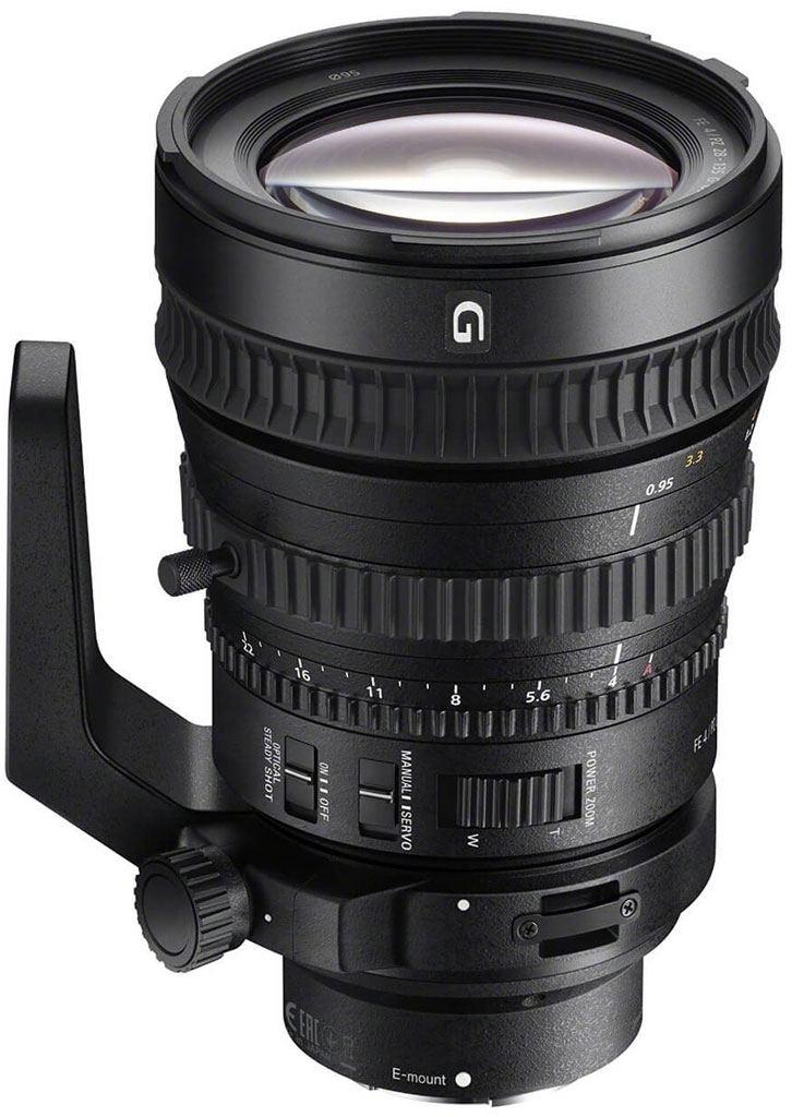 Sony SEL-P FE 28-135mm 1:4,0 G OSS PZ (SELP28135G) E-Mount
